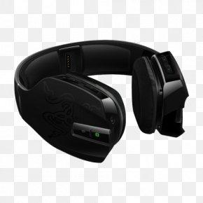 Xbox 360 Wireless Headset - Xbox 360 Wireless Headset Headphones Video Game Razer Chimaera PNG