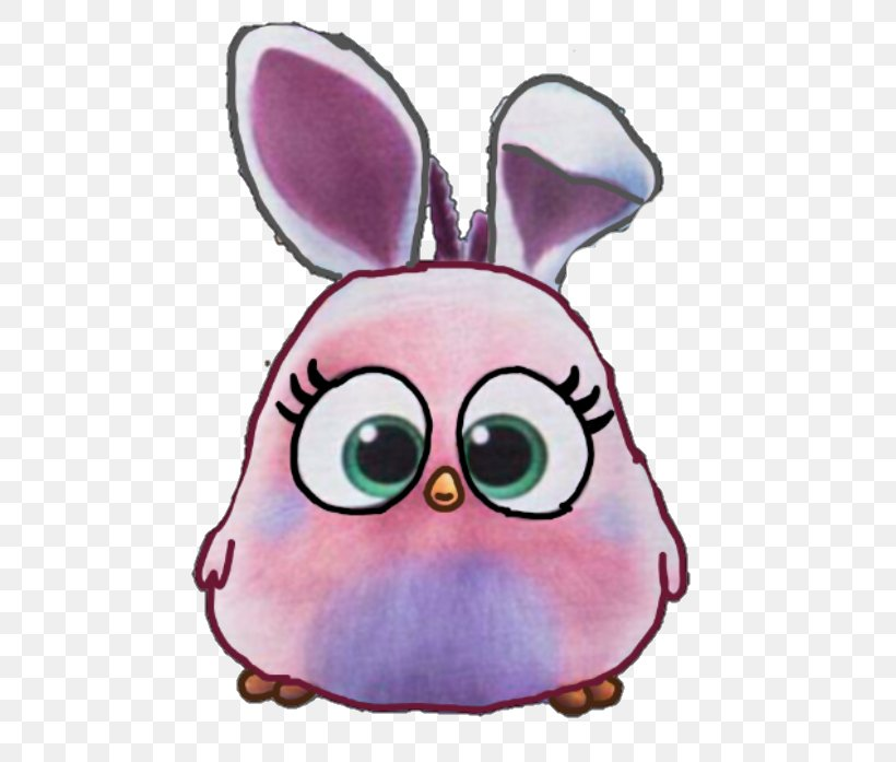 Rabbit Angry Birds Hatchlings Easter Bunny Cartoon Png 480x697px Watercolor Cartoon Flower Frame Heart Download Free