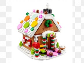 Lego House - Gingerbread House Toy LEGO Christmas Day PNG
