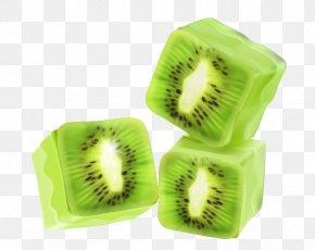 Frozen Kiwi Vector Material - Kiwifruit Euclidean Vector PNG
