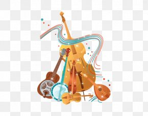 Violin Piano Musical Instrument Pipa - Bluegrass Musical Instrument Clip Art PNG