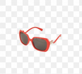 Red Frame Sunglasses - Goggles Sunglasses Fashion Accessory Headband PNG