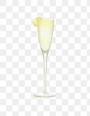 Cocktail - Cocktail Martini Wine Glass Champagne Glass Yellow PNG