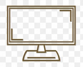 Rectangle Computer Monitor Accessory - Outlinemonitor Icon Red Icon Shopping Icon PNG