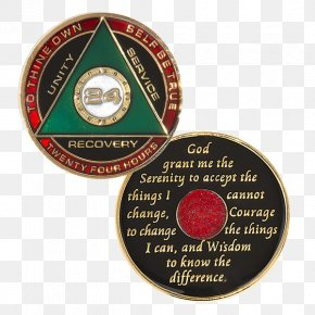 Hour Of True - Sobriety Coin Alcoholics Anonymous Medal Narcotics Anonymous PNG