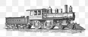 Steam - Train Rail Transport Steam Locomotive Clip Art PNG