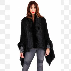 Jacket - Cape Shawl Coat Fur Clothing Fake Fur PNG
