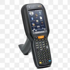 Hand-held Mobile Phone - Handheld Devices Computer Barcode Scanners Mobile Computing Image Scanner PNG