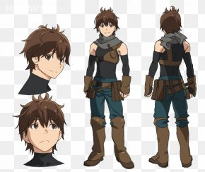 Character Design - Grimgar Of Fantasy And Ash Haruhiro G-Anime Reiner Braun PNG