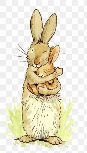 Bunny Hug - Guess How Much I Love You The Adventures Of Little Nutbrown Hare Greeting Card Valentines Day Rabbit PNG