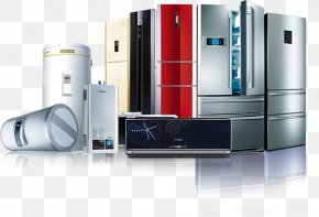 Refrigerator - Refrigerator Home Appliance Haier Electricity Washing Machine PNG