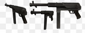 Machine Gun - Weapon Firearm Submachine Gun Gun Barrel PNG