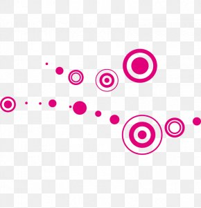 Vector Pink Circle - Graphic Design Euclidean Vector Circle Illustration PNG