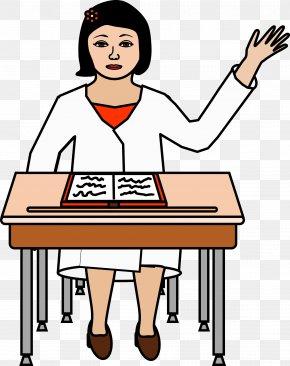 Student - Student Desk Teacher School Clip Art PNG