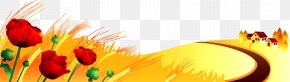 Country Road - Autumn Season Spring Clip Art PNG