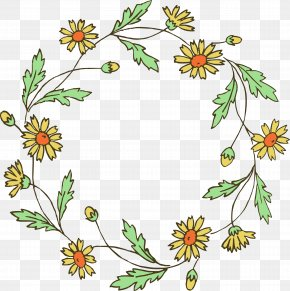 Spring Wreath Cliparts - Flower Wreath Clip Art PNG