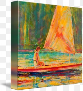 Painting - Painting Acrylic Paint Gallery Wrap Canvas Art PNG