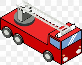 Fire - Car Fire Engine Firefighter Clip Art PNG