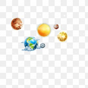 Vector Numerous Planets Space Galaxy - Planet Galaxy Outer Space PNG