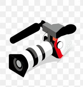 Vector Camera - Euclidean Vector Video Camera PNG
