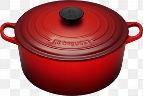Cooking Pan Image - Le Creuset Cast Iron Dutch Oven Casserole Cookware And Bakeware PNG