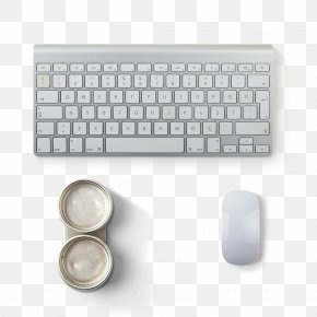 White Keyboard And Mouse - Computer Keyboard Macintosh Computer Mouse Magic Mouse 2 PNG