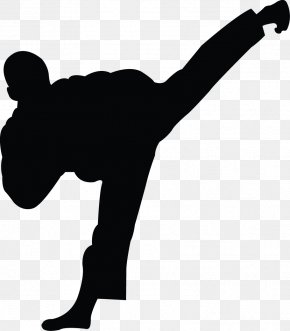 Karate Silhouette Cliparts - World Taekwondo Martial Arts Sport Karate PNG