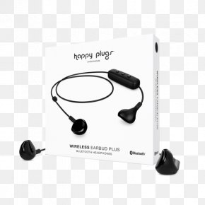 Headphones - Happy Plugs Earbud Plus Headphone Headphones Wireless Bluetooth Headset PNG