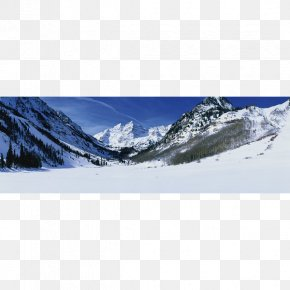 Mountain - Aspen Maroon Bells Mountain Wish Massif PNG