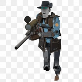 Knitting - Team Fortress 2 Robot Portal Sniper Mecha PNG