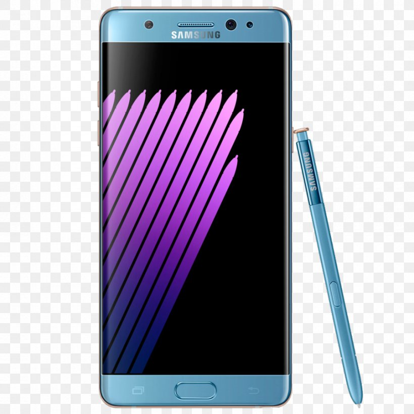 Samsung Galaxy Note 7 Samsung Galaxy Note 5 Samsung Galaxy Note II Smartphone Telephone, PNG, 900x900px, Samsung Galaxy Note 7, Cellular Network, Communication Device, Computer Monitors, Electric Blue Download Free