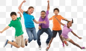 Kids Jumping In Puddle - Tri-Cities Family YMCA Child Party Summer Camp PNG