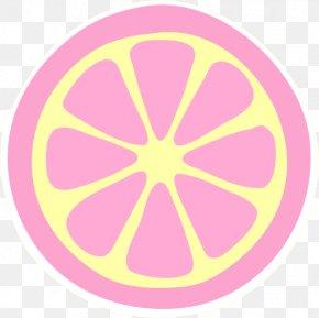 Lemonade - Juice Variegated Pink Lemon Grapefruit Clip Art PNG