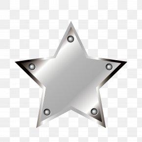 Star Metal Map - Metal Star PNG