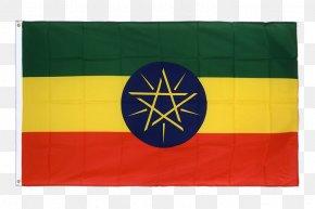 Flag - Flag Of Ethiopia National Flag Fahne PNG