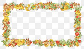 Rectangle Picture Frame - Christmas Picture Frame PNG