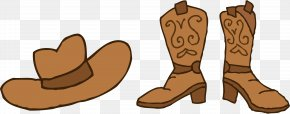 Cowboy Cartoon Cliparts - Cowboy Boot Free Content Clip Art PNG