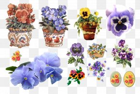 Flower - Floral Design Cut Flowers Pansy Drawing PNG
