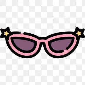 Cat's Eye - Goggles Sunglasses Clip Art PNG