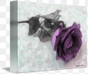 Rose Leslie - Purple Violet Flower Lilac Lavender PNG