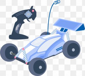 Manual Remote Control Four-wheel Drive - Radio-controlled Car Toy Remote Control Model Car PNG