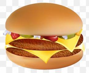 Hamburger Image - Hamburger Cheeseburger Hot Dog Fast Food Breakfast Sandwich PNG