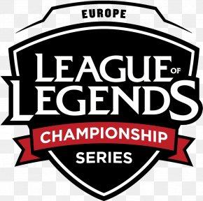 League Of Legends - 2018 Spring European League Of Legends Championship Series North America League Of Legends Championship Series PNG