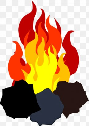 Flame Fire - Red Fire Flame Clip Art Graphic Design PNG