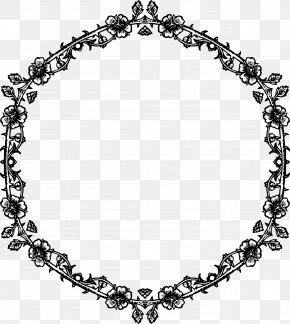Rose Frame - Ring Picture Frames Clip Art PNG