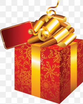 Gift Red Box Image - Gift Clip Art PNG