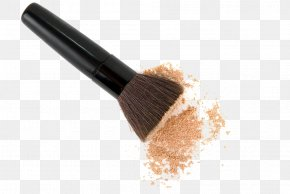 Makeup Brush - Cosmetics Makeup Brush Face Powder Foundation PNG
