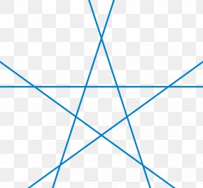 Star - Five-pointed Star Triangle Shape Symbol PNG