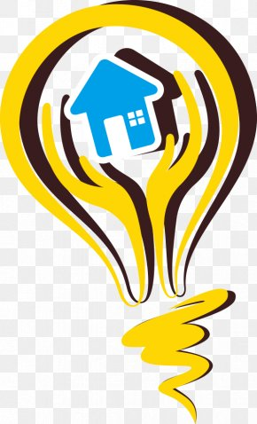 Yellow Light Bulb - Incandescent Light Bulb Energy Conservation PNG