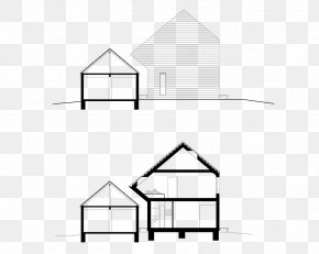 House - Architecture House Drawing Roof PNG
